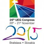 Congress 2015 Bratislava logo UEG farba